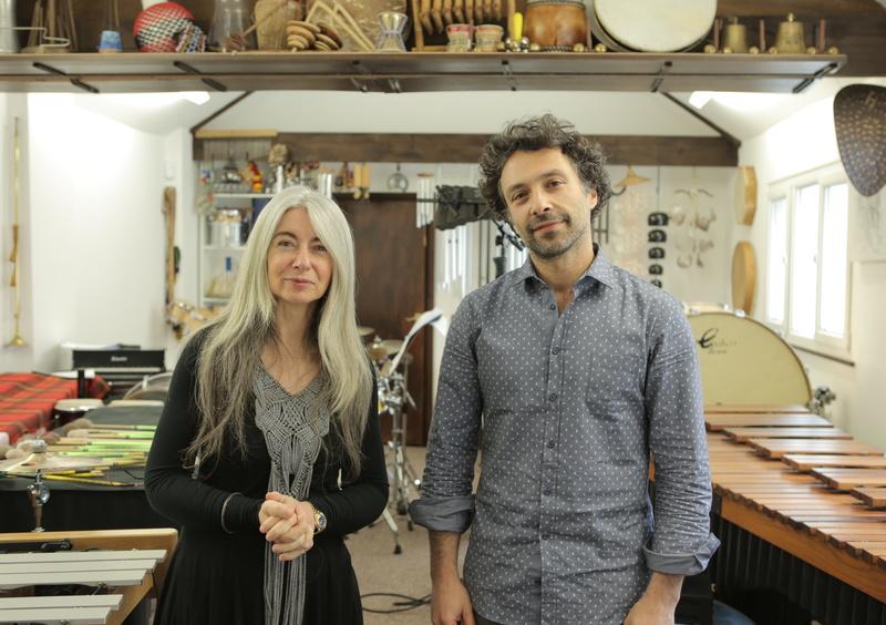 Evelyn Glennie and Jered Sorkin